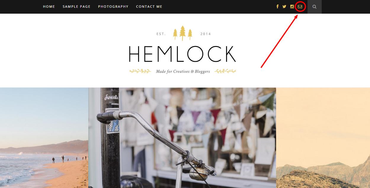Hemlock Email Icon Screenshot #1