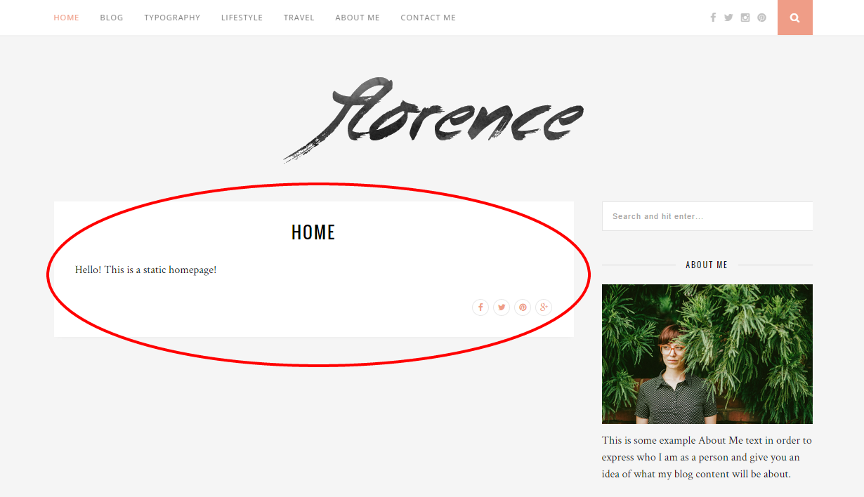 Static Homepage Screenshot #4