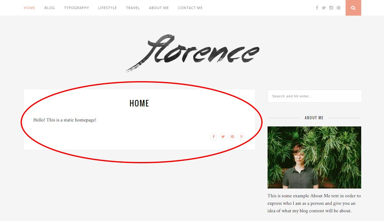 Static Homepage Screenshot #4