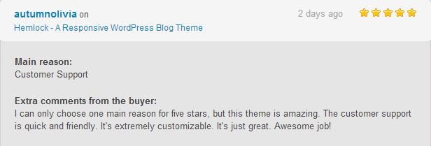 Hemlock - A Responsive WordPress Blog Theme - 1