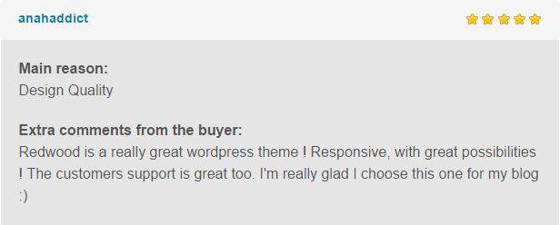 redwood review1 - Redwood - A Responsive WordPress Blog Theme