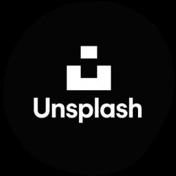 unsplash logo image