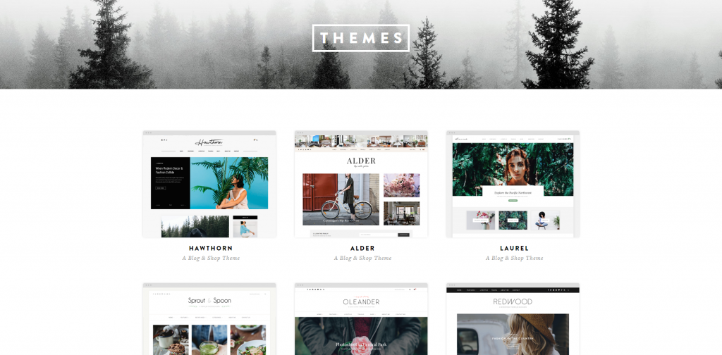 Solo Pine themes