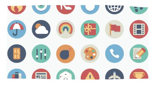 Elegant themes icons